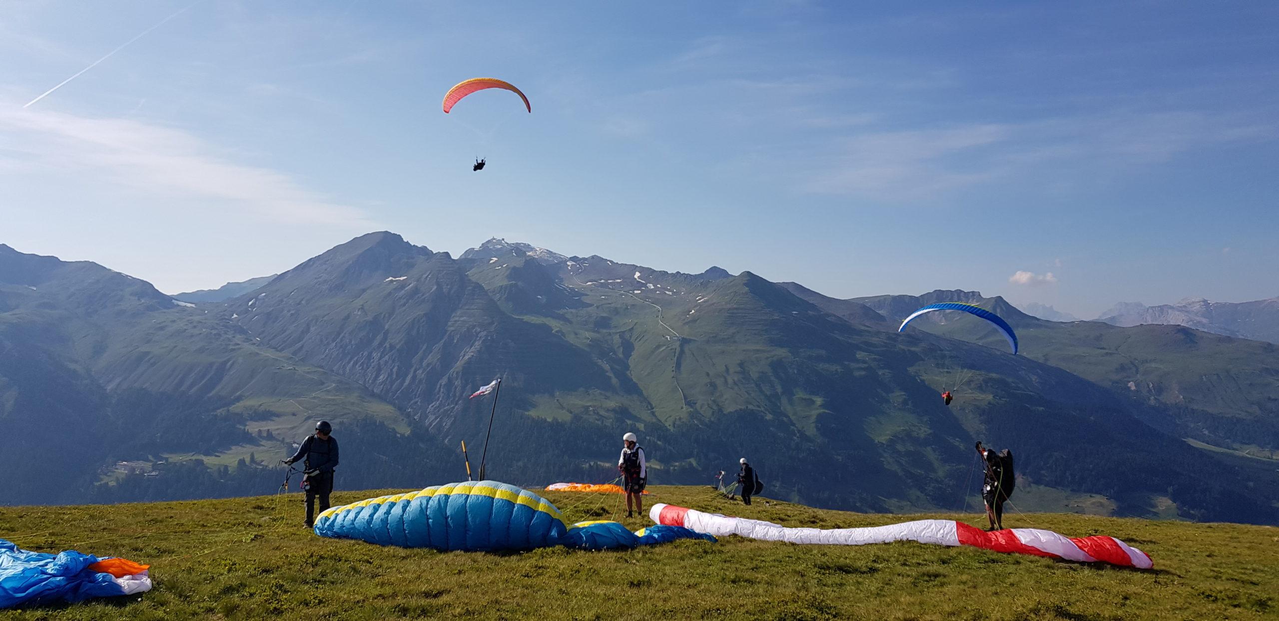 Gleitschirm Flugschule: Streckenflug 2019 (13)